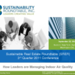 Managing Indoor Air Quality Roundtable