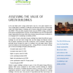 Assessing Value of Green Buildings