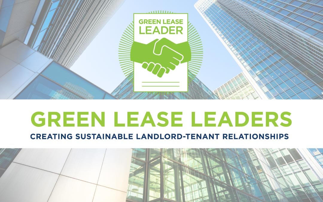 Corporate Sustainability Strategies Appointed Green Lease Leaders Supporting Partner