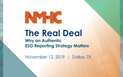 The Real Deal: Why an Authentic ESG Reporting Strategy Matters