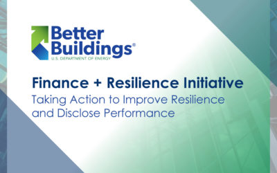 Taking Action to Improve Resilience and Disclose Performance
