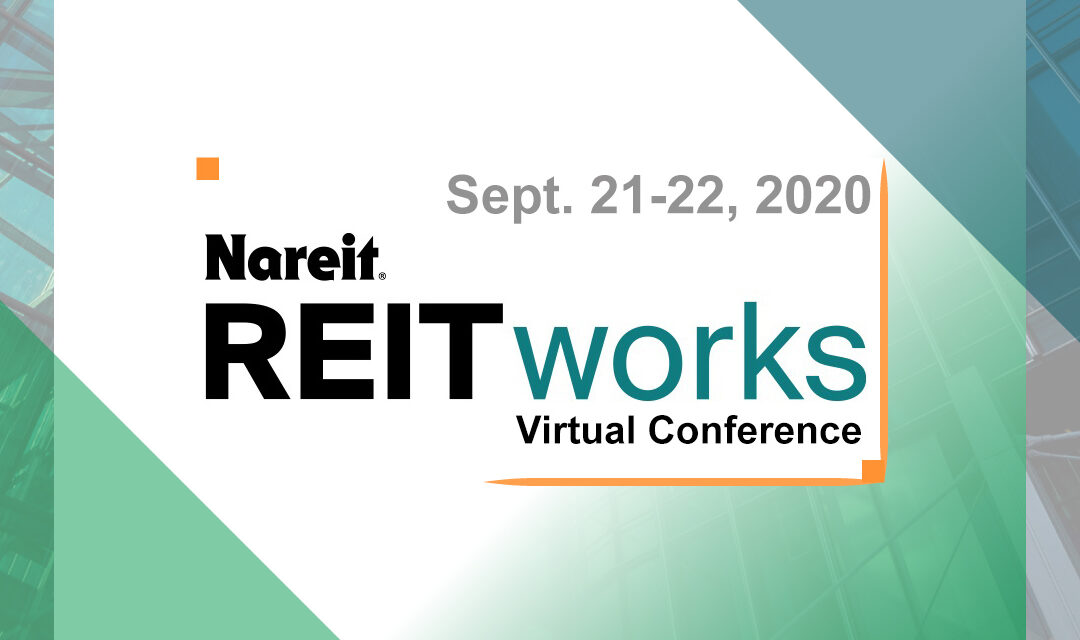 Nareit REITworks Virtual Conference Session: Best Practices for Publicly Reporting Your Company's Social Policies