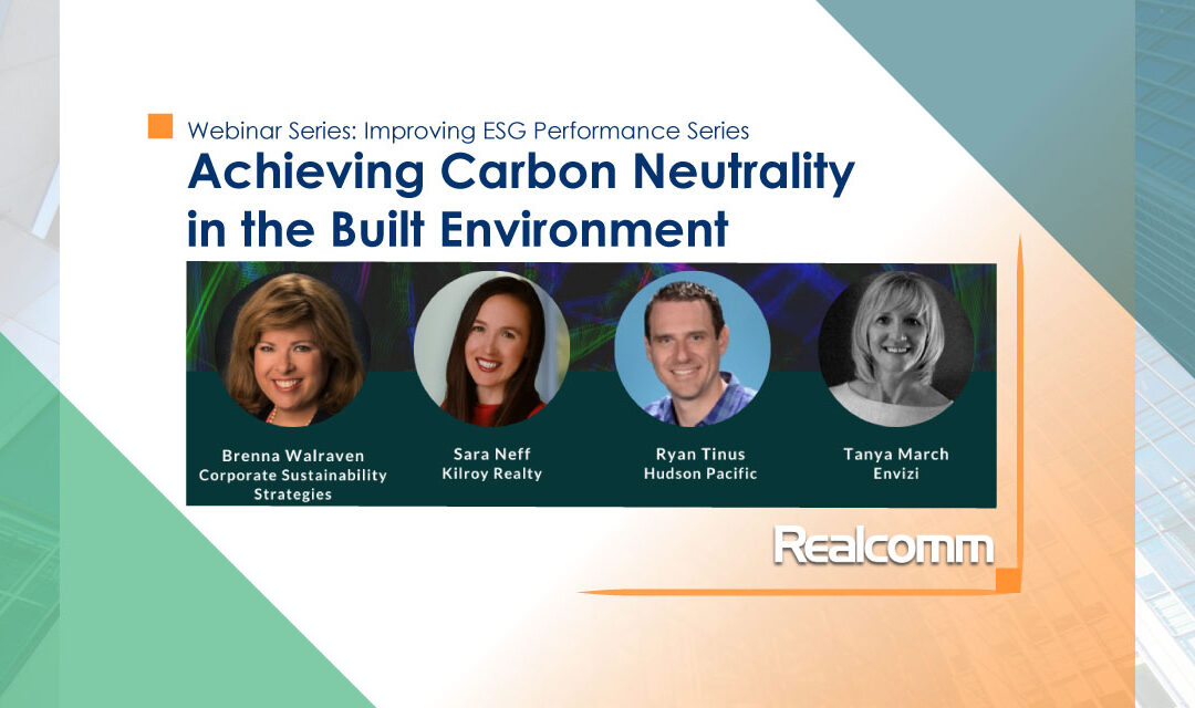 Improving ESG Performance: Achieving Carbon Neutrality in the Built Environment