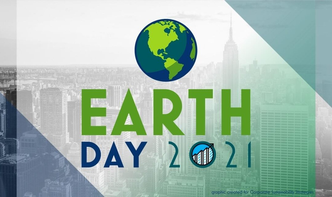 "Earth Day 2021: ""Restore Our Earth"" Every Day"