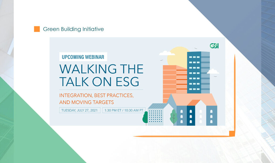 Walking the Talk on ESG: Integration, Best Practices, and Moving Targets